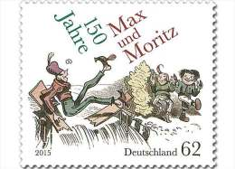 2015 Germany / BRD - 150 Years Max And Moritz -Poems And Comics - 1v - MNH** - Fumetti