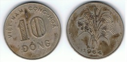 VIETNAM 10 DONG 1964 - Vietnam