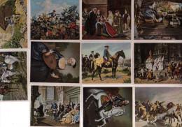 SAMMELWERK N°12  Bilder Deutscher Geschichte,gruppe 49, 11 Images,n°63,65,53,58,67,51,55,43,30,39,47 - Cigarette Cards