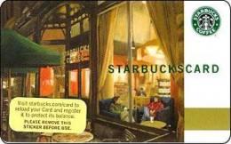 Amerika Starbucks Card 2007 Kaffeeshop Div. Backside 2007-6034 - Gift Cards