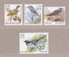2001 Nr 2985-88** Vogels.Herdruk Met Waarde In BEF & EURO. - 1985-.. Birds (Buzin)