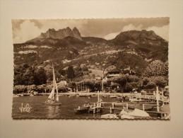 Carte Postale - Port De TALLOIRES (74) - Les Dents De Lanfon Et La Tournette (166) - Talloires