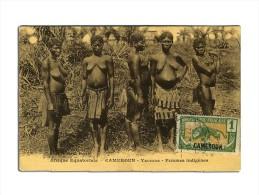 Cameroun - Yaoundé Femmes Indigenes - Folklore - Nn Viagg - WITH STAMP - Camerun