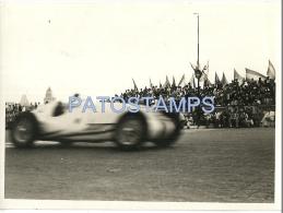 9312 ART AUTOMOBILE OLD CAR AUTO CAR RACE PHOTO NO POSTAL POSTCARD - Alte Papiere