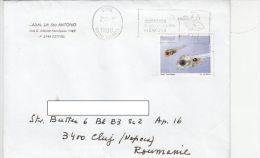 19731- BREAM TADPOLE, STAMPS ON COVER, 1998, PORTUGAL - 1910-... República