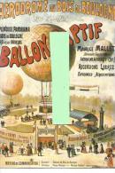 Ballon Captif Maurice Mallet , Réédition Affiche Ancienne - Fesselballons