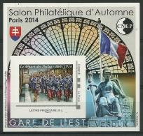 Bloc CNEP N°67 Adhésif Gare De L´Est Départ Des Poilus 1914 - CNEP