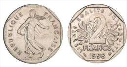 2 Francs Semeuse 1998 SUP