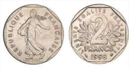 2 Francs Semeuse 1998 SUP - France
