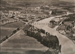 La Moselle En Amont De Metz à Ancy (57) Documentation Aérienne  Pédagogique LAPIE N°33 Des Années 1960 - Photos