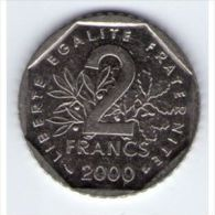 2 Francs Semeuse 2000 SUP