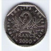 2 Francs Semeuse 2000 SUP - France