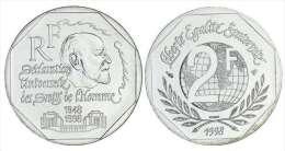 2 Francs René CASSIN 1998 SUP - France