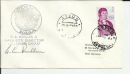 LAS PALMAS 1969 MISSION APOLLO NASA GRAND CANARY - Cartas