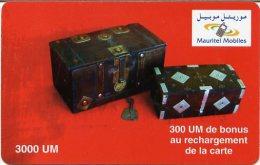 @+ Mauritanie - 300UM - Mauritel - Coffres (sans Code) - Mauritania