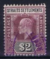 Straits Settlements  SG Nr 137   Mi Nr 106 Used Some Damage - Straits Settlements