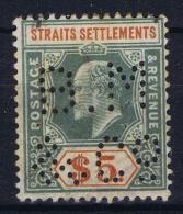 Straits Settlements  SG Nr 121   Mi Nr 90 PERFIN BM&Co - Straits Settlements
