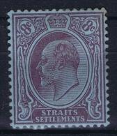 Straits Settlements  SG Nr 126   Mi Nr 95 MH/* - Straits Settlements