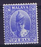 Malaya Perak  Mi Nr  66  SG  113 MH/*  1938 - Perak