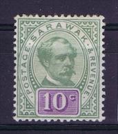 Sarawak 1888  Mi Nr  15 SG 15 MH/*  1921 - Sarawak (...-1963)