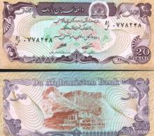 Afghanistan #56a, 20 Afghanis, SH1358 (1979), UNC / NEUF - Afghanistan