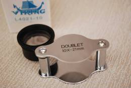 Metalen Precisie Inslagloupe, NIEUW/NOUVEAU, Normale Winkelprijs 20 € !!! (006) - Pinces, Loupes Et Microscopes