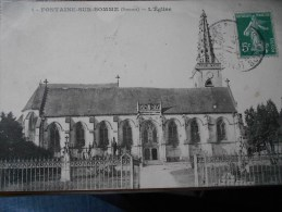 FONTAINE SUR SOMME  L'EGLISE - Autres Communes