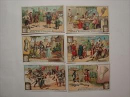 Liebig - LE GANT - S.782 - Année 1904 -Ed. Française - Série De 6 Chromos Comme Neufs - (lot 8) - Liebig