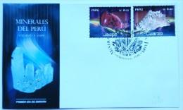 Perù 2014, Minerals, 2val In FDC - Peru