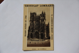Chocolat Lombart - AMIENS, La Cathédrale - Lombart