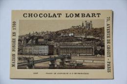 Chocolat Lombart - LYON, Palais De Justice Et ND De FOURVIERES - Lombart