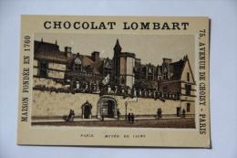 Chocolat Lombart - PARIS , Musée De CLUNY - Lombart