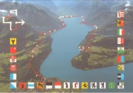 Flag - Weg Der Schweiz - Voie Suisse - Via Svizzera - Via Svizra - Briefe