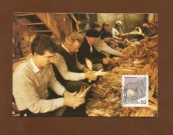 Liechtenstein  1989 , Türkenausziehen - Herbstbräuche (III) -  Maximum Card - Ausgabetag 4. Sept. 1989 - Maximumkarten (MC)