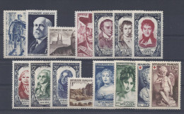 ANNEE COMPLETE FRANCE 1950 NSC **  15 TIMBRES YT 863 - 877  ( YEAR SET JAHRGANG ) - 1950-1959