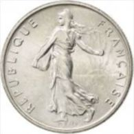 1/2 Franc 1997 Semeuse SPL - G. 50 Centimes