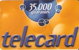 TARJETA DE PARAGUAY DE TELECARD DE 35000 GUARANIES - Paraguay
