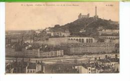 CPA-69-LYON-COLLINE DE FOURVIERE PRISE DE LA CROIX-ROUSSE- - Lyon