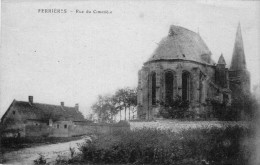 (1002)  CPA  Ferrieres  Rue Du Cimetiere  (bon Etat) - Frankrijk