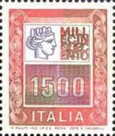 ITALIA REPUBBLICA ITALY REPUBLIC 1978 ALTI VALORI HIGHT VALUE LIRE 1500 MNH - 6. 1946-.. Repubblica