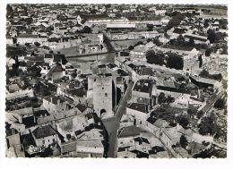 CPSM (79) THOUARS - Vue Aérienne - Porte Au Prévôt - (111) - Thouars