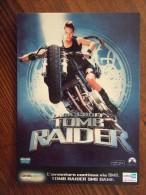 TOMB RAIDER Lara Croft Angelina Jolie Movie Film Carte Postale - Film