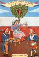VAR 83 DRAGUIGNAN   1989 BICENTENAIRE DE LA REVOLUTION ILLUSTRATEUR  ANDRE ROUSSEY - Bourses & Salons De Collections