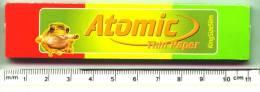 Atomic Cigaret Paper, Vloei. Frog, Kikker, Grenouille. 33 Extra Long. - Sigaretten - Toebehoren