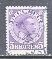 DENMARK    134   (o) - Used Stamps