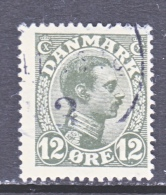 DENMARK    101    (o) - Used Stamps