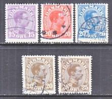 DENMARK    102-6     (o) - 1913-47 (Christian X)