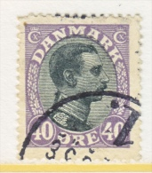 DENMARK    116    (o) - Used Stamps