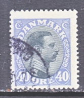 DENMARK    117    (o) - Used Stamps