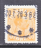 DENMARK    119    (o) - Used Stamps